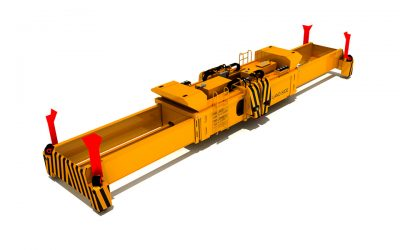 3900 ALL ELECTRIC TWINLIFT SPREADER FOR YARD CRANES