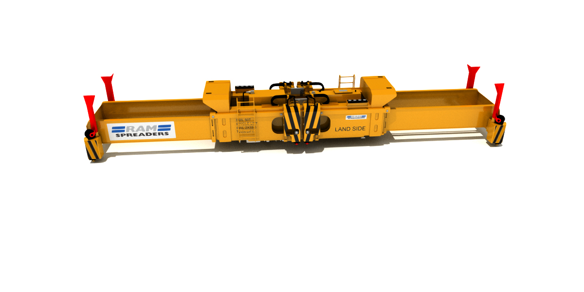 RAM 2900 TWINLIFT SPREADER FOR STS CRANES