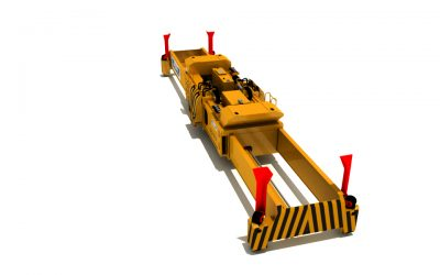ALL ELECTRIC SINGLE LIFT SPREADER FOR STS CRANES