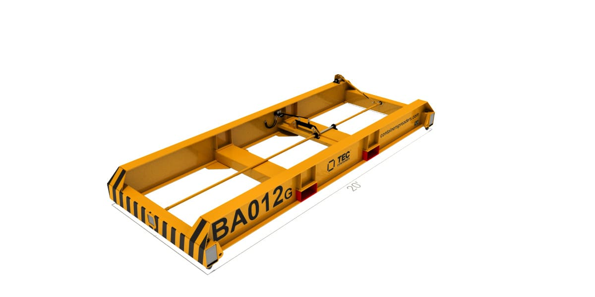 Spreaders for forklift