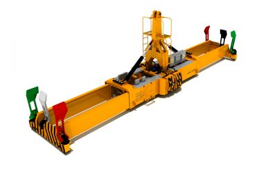2700 TWINLIFT SPREADER FOR MHC CRANES
